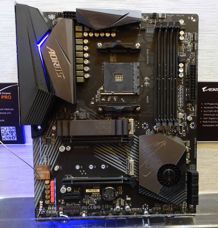 GIGABYTE Gives AMD X570 the Full Aorus Treatment: ITX to