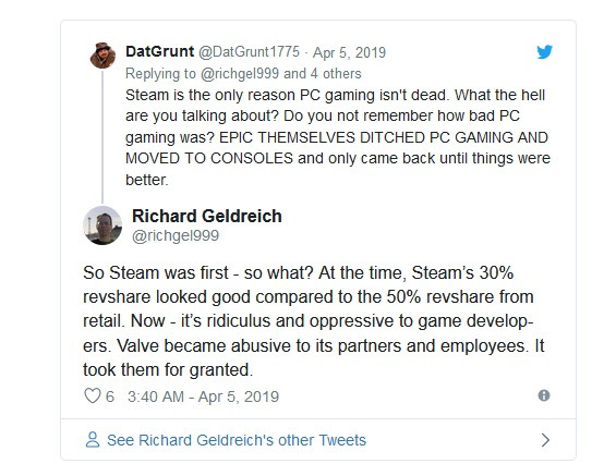 Steam Was Killing PC Gaming