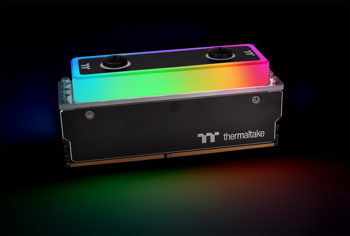 Thermaltake Launches WaterRam RGB Liquid Cooling DDR4 Memory 3600MHz