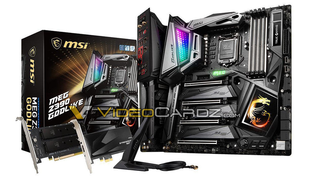 MSI Z390 Motherboard Lineup Detailed: Includes a