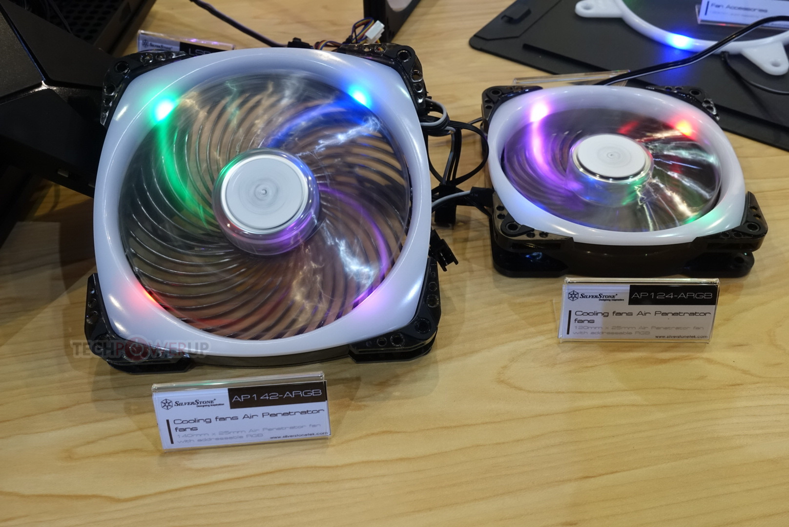 SilverStone Intros Fans and Fan-Frames with Addressable RGB