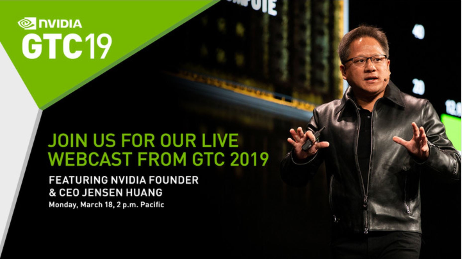 NVIDIA GTC 2019 Kicks Off Later Today, New GPU Architecture Tease