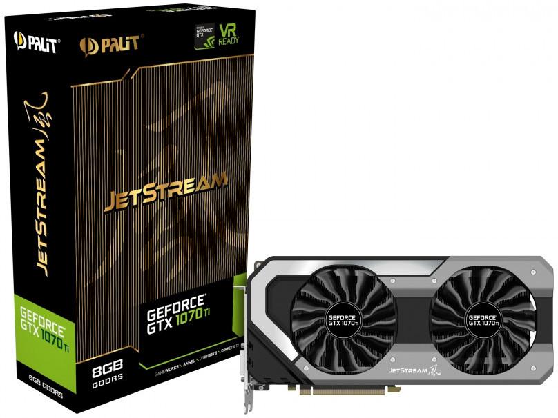 Palit Announces its GeForce GTX 1070 Ti Graphics Cards