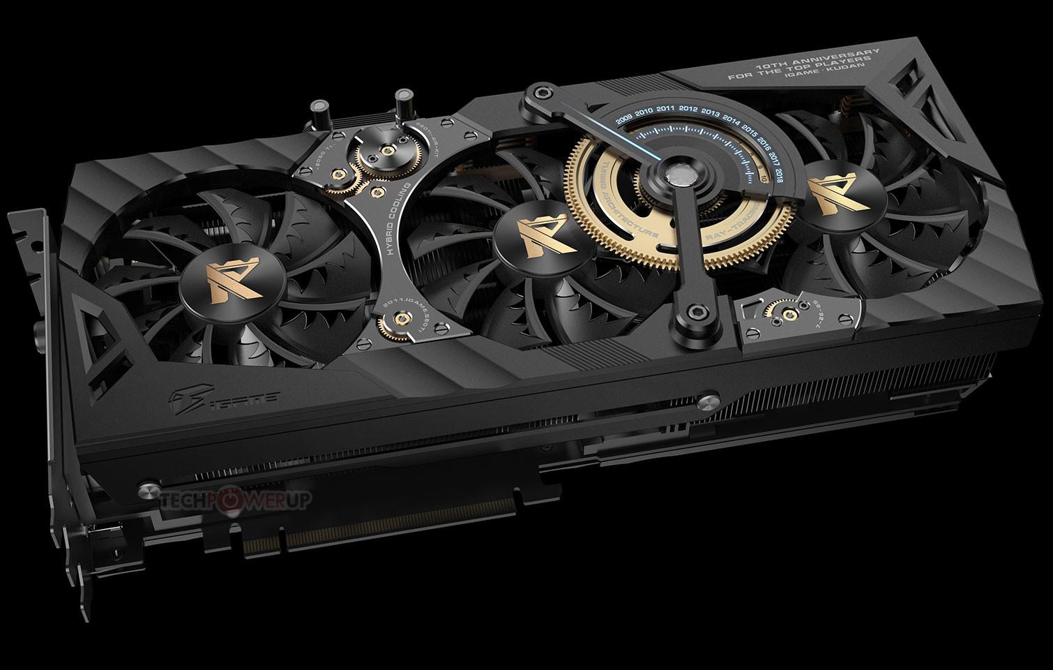 Colorful Debuts the iGame GeForce RTX 2080 Ti KUDAN
