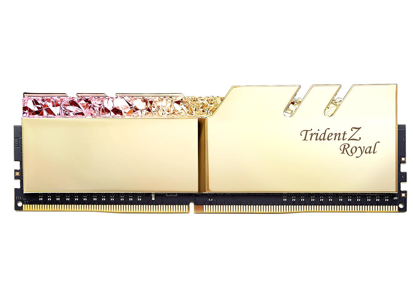 G SKILL Launches Trident Z Royal Series DDR4 RGB Memory Kits - EVGA