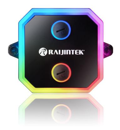 Raijintek Intros CWB-RGB CPU Water Block with Addressable