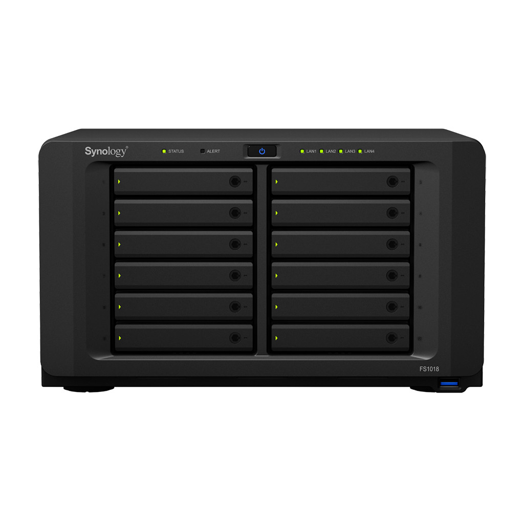 Synology Introduces the FlashStation FS1018 and DiskStation DS218
