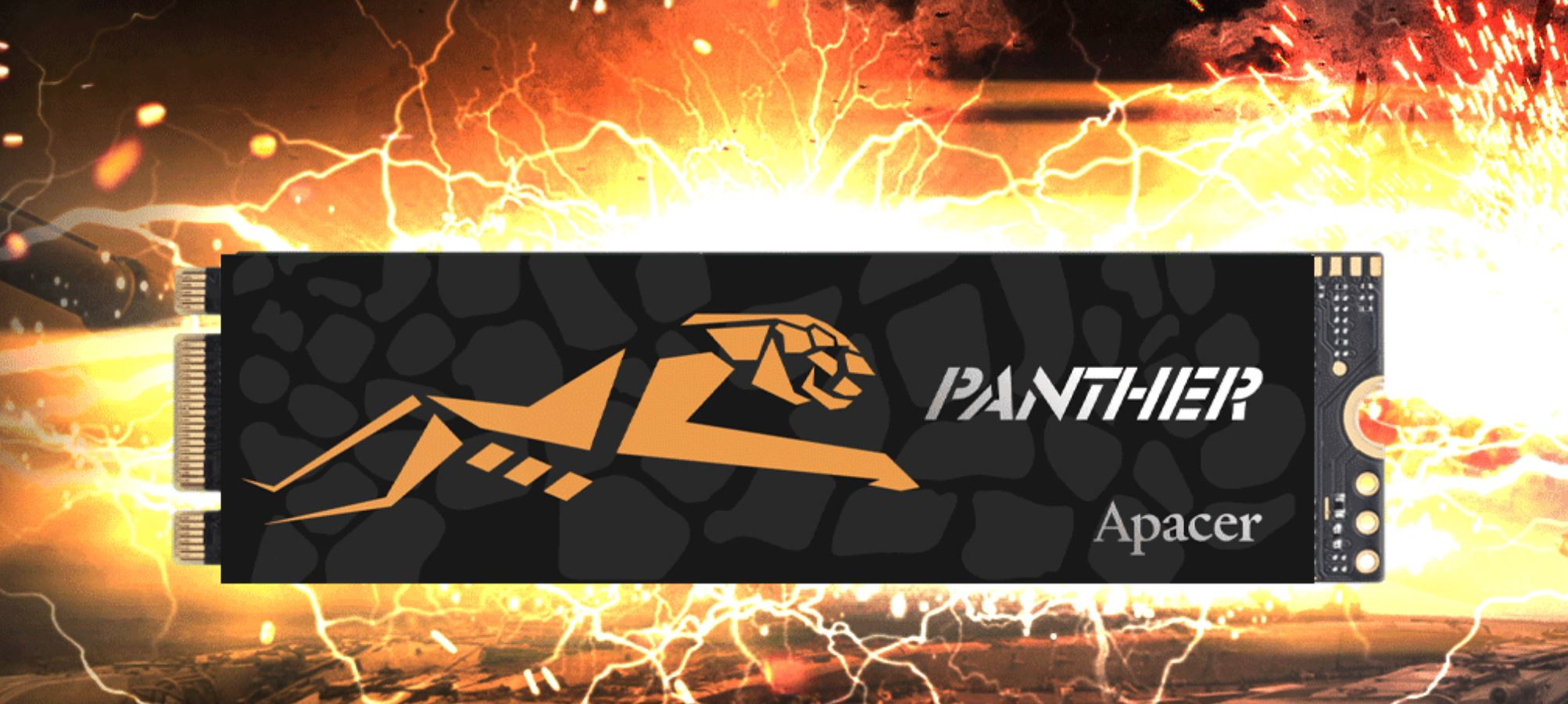 Apacer Announces the Panther AS2280P2 PRO M 2 NVMe SSDs