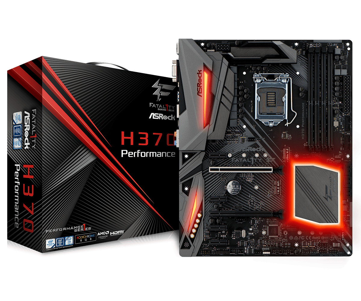 ASRock Announces Motherboards Based on Intel H370, B360, and