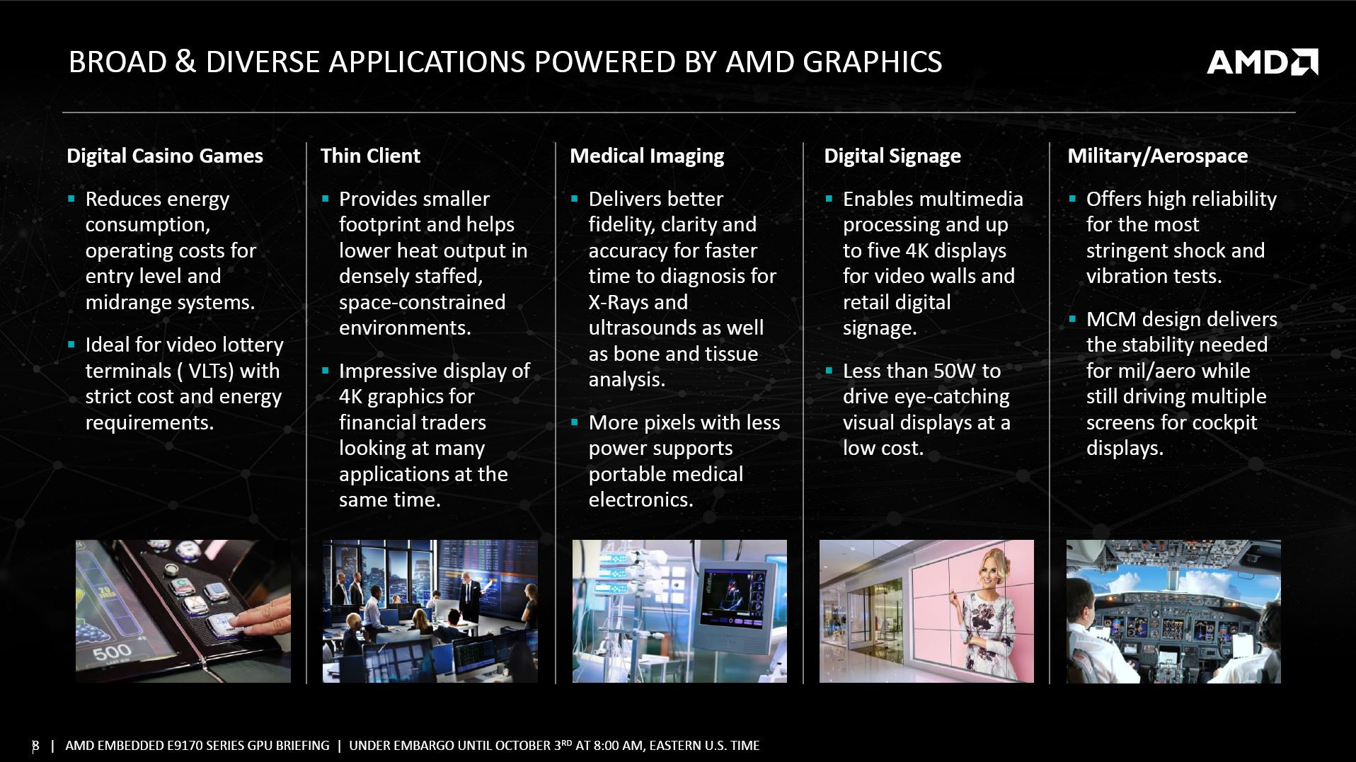 AMD Announces New Radeon Embedded GPUs | TechPowerUp