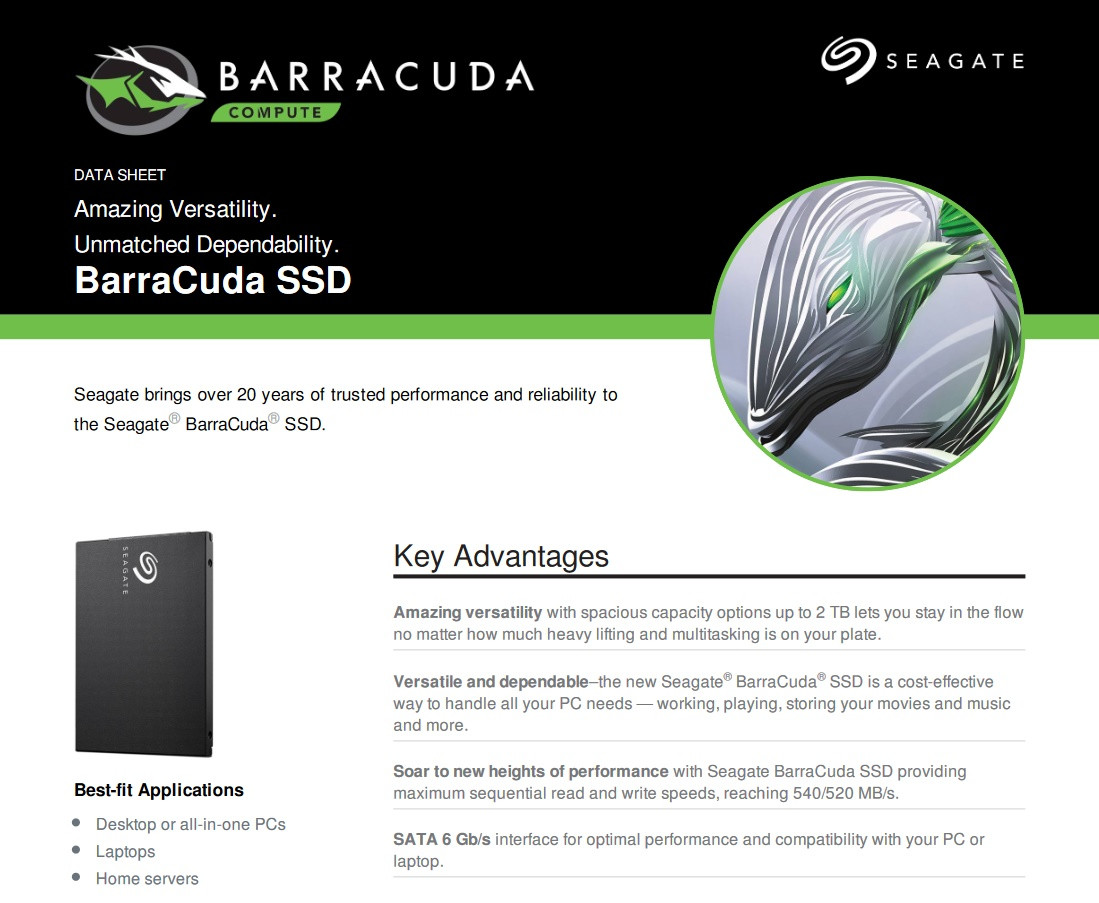 News Posts Matching 2 Tb Techpowerup Seagate Firecuda 25 Inch 2tb Sshd 5 Years Warranty Optimum Hdd For Gaming Launches The New Barracuda Ssd Lineup 250 Gb Through Capacities