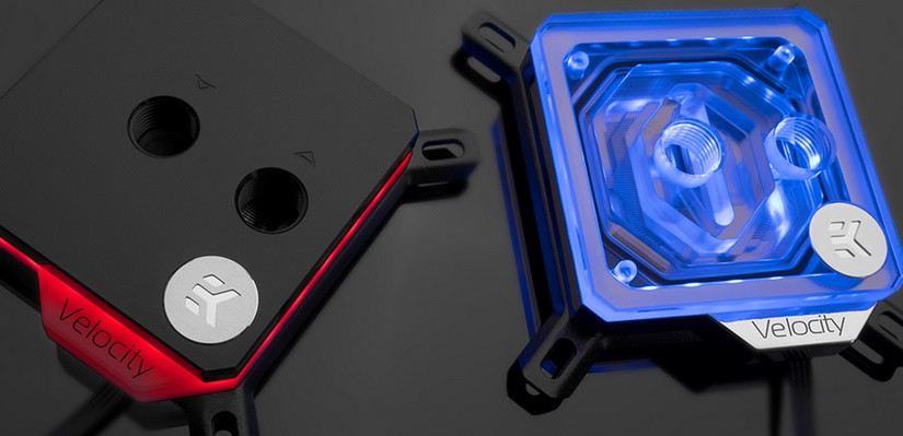 EK Launches their Next-Gen Velocity CPU Water Blocks