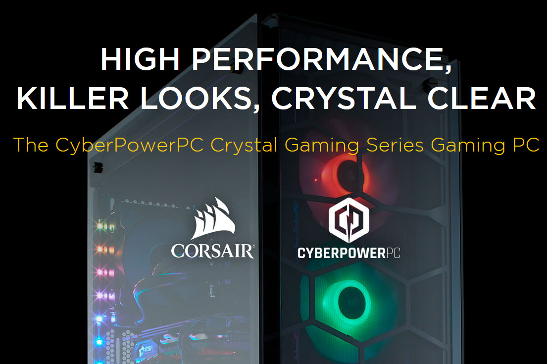 Cyberpowerpc Review 2020.Cyberpowerpc Lights Up Gaming New Crystal Pcs Based On