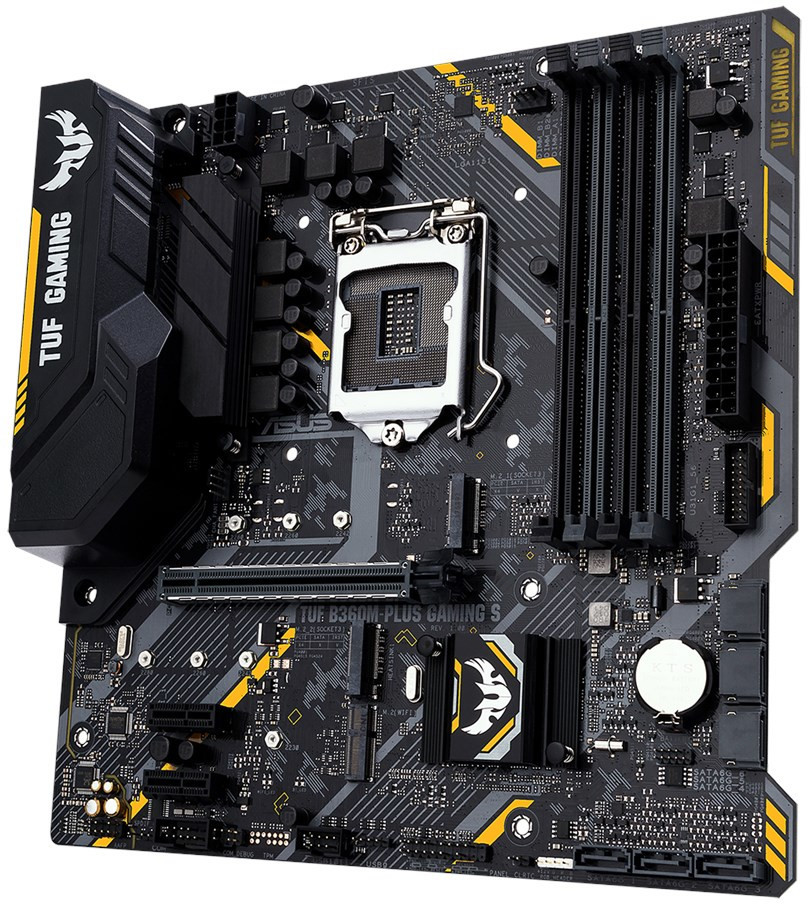 ASUS Intros TUF B360M-Plus Gaming S Motherboard | TechPowerUp