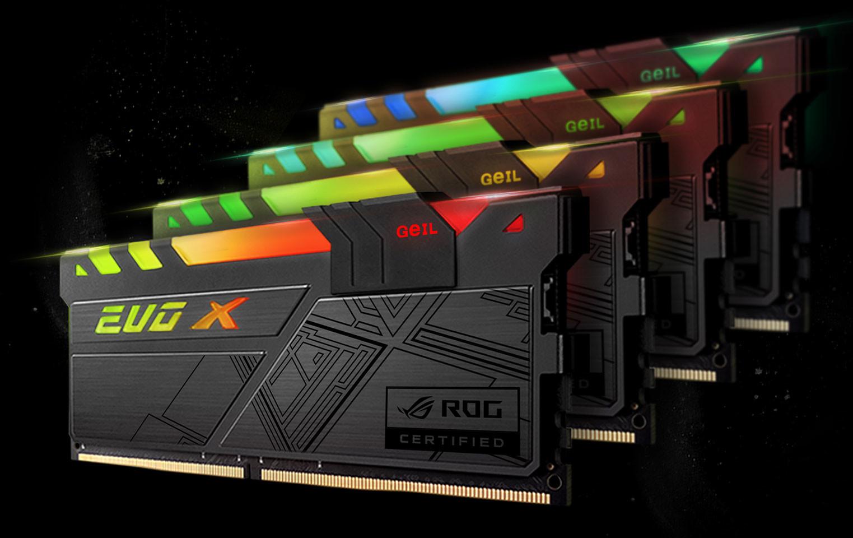 GeIL представила в России новые модули ОЗУ DDR4
