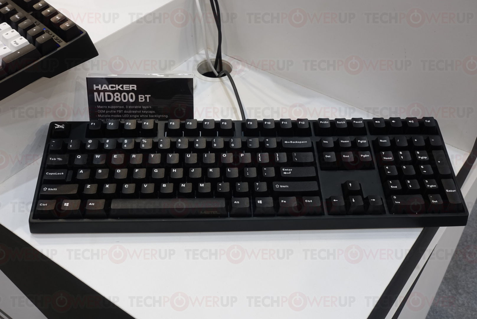 Mistel Introduces Two New Keyboards at Computex 2019