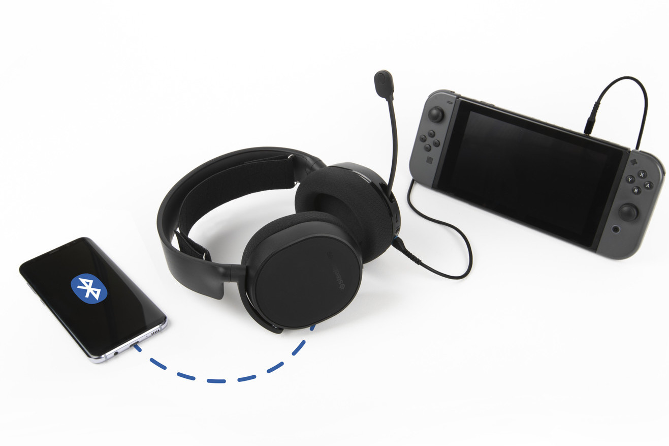 d896f8c679b The newest version of the Arctis 3 Bluetooth features many of the same  upgrades seen in the 2019 editions of the award-winning Arctis line.