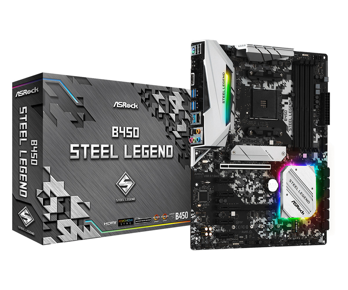 ASRock Announces Steel Legend Family of Motherboards | TechPowerUp