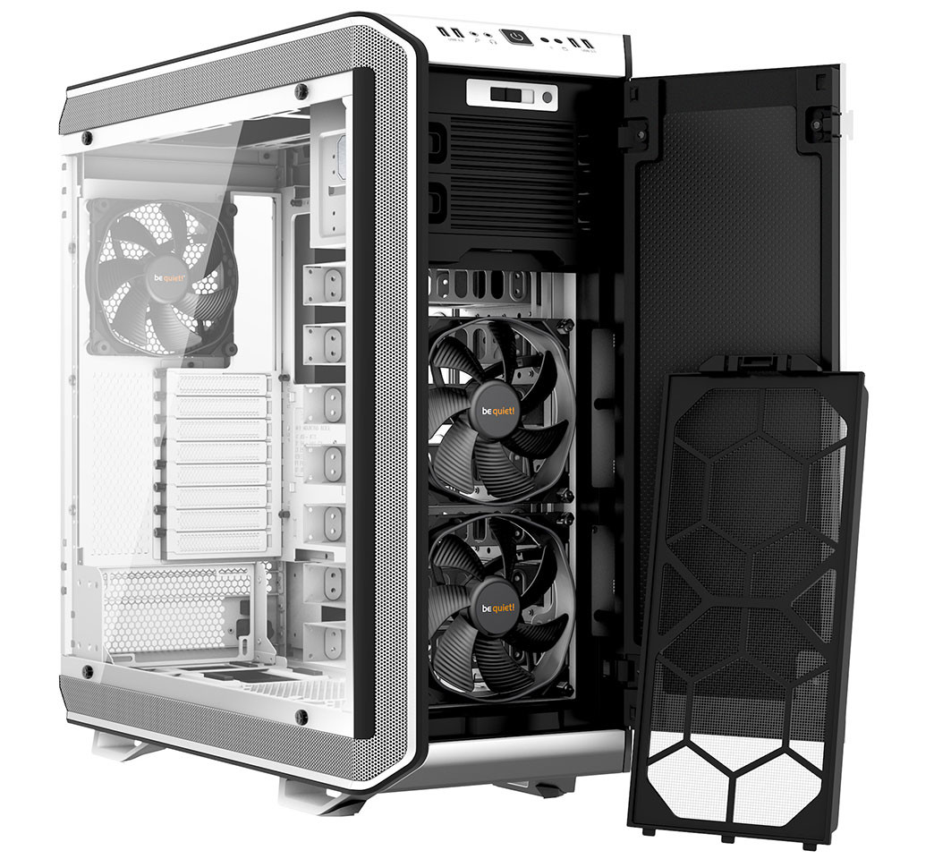 be quiet announces dark base pro 900 white edition techpowerup