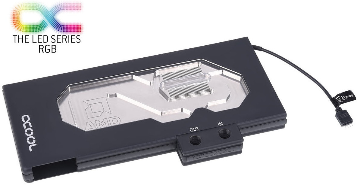 Alphacool Announces Eisblock GPX Waterblocks for AMD and NVIDIA Graphics Cards