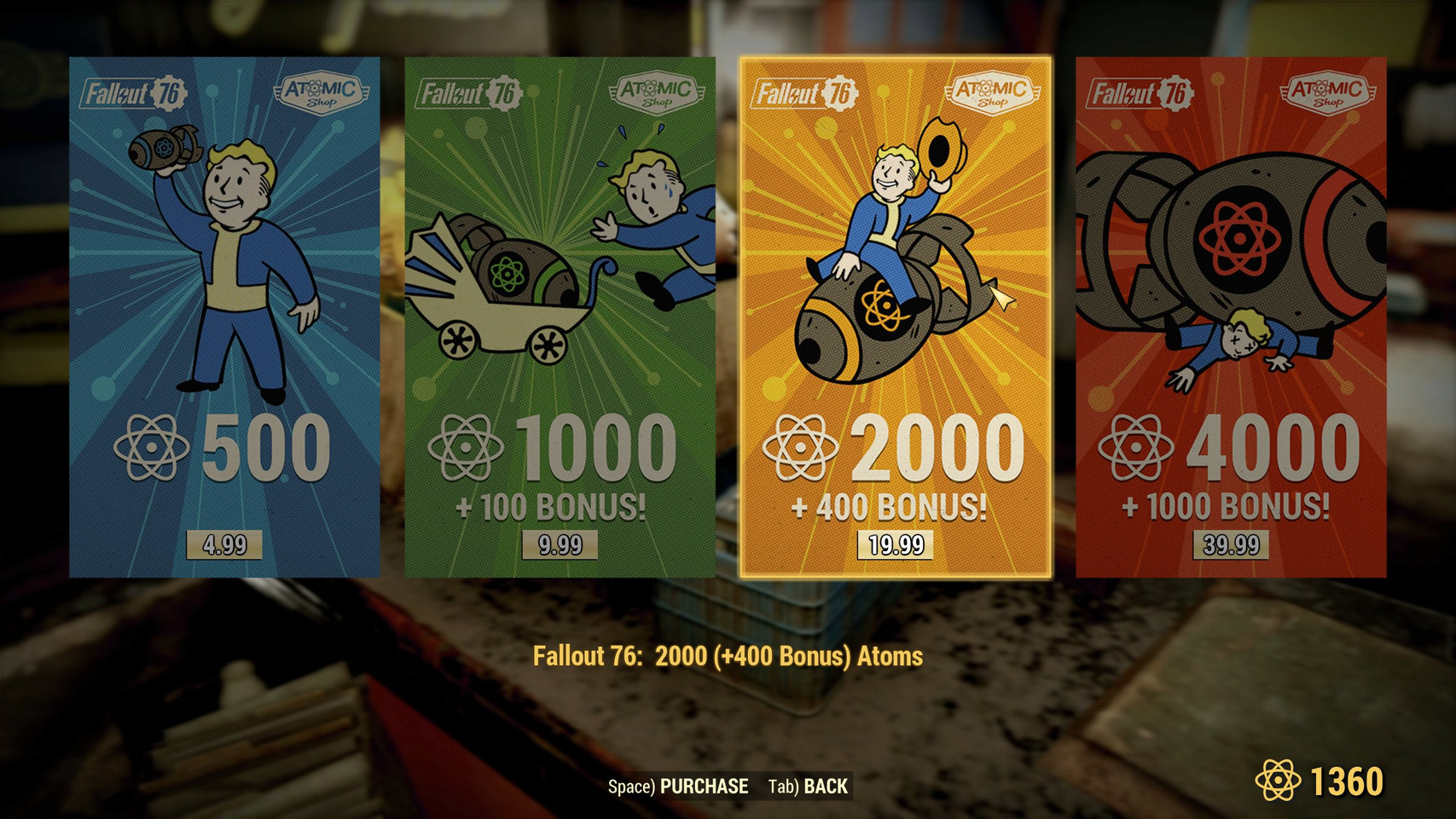 Fallout 76: Atom Shop Prices Reach New Level of Absurdity | TechPowerUp