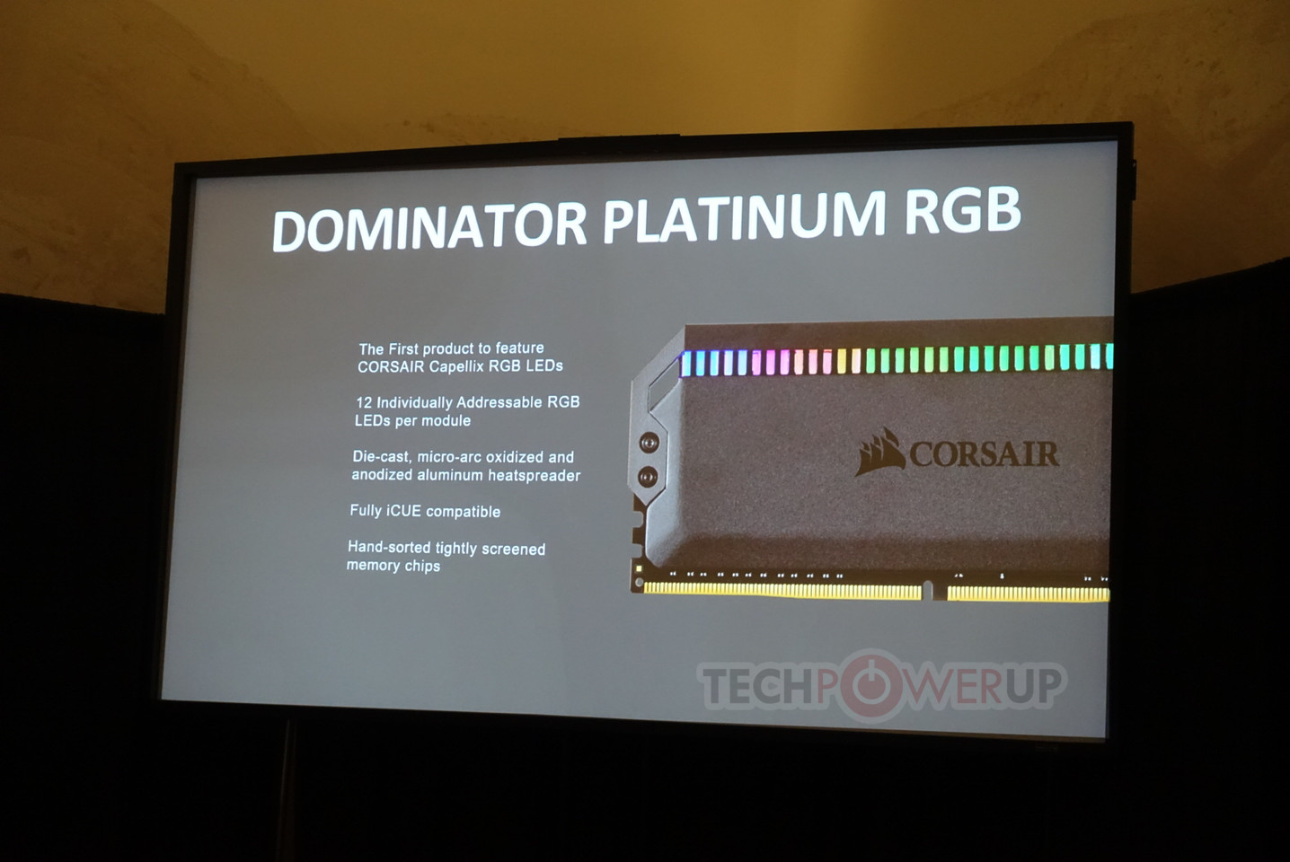 Corsair Readies Dominator Platinum RGB Memory with Capellix LED
