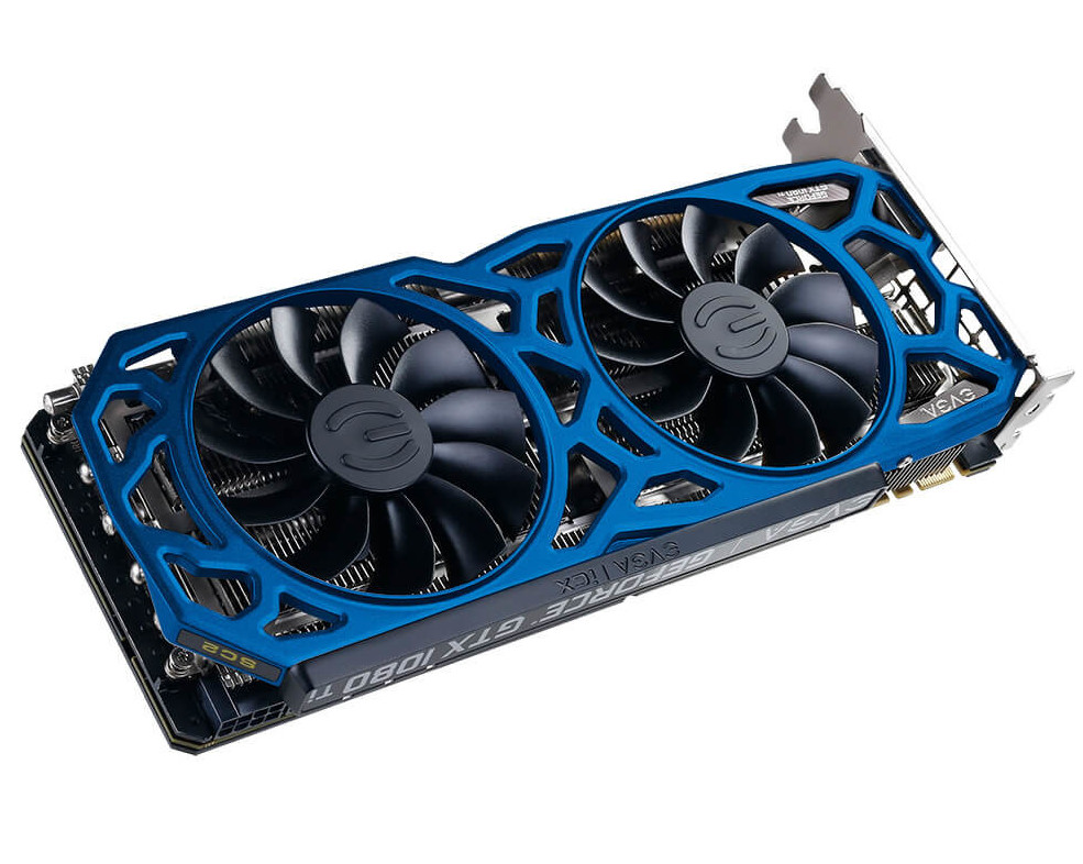 EVGA Intros GeForce GTX 1080 Ti SC2 Elite in Two New Color