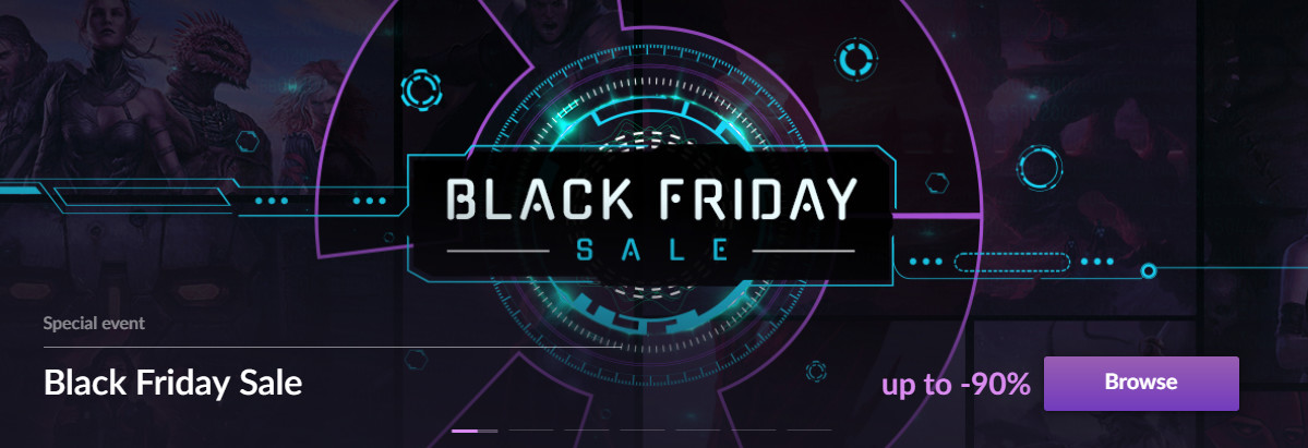 GOG Joins the Black Friday Sales Craze with up to 90% Off in DRM