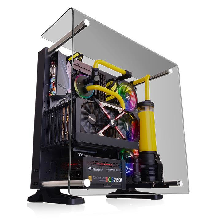 Thermaltake Intros Core P3 Tg Chassis With Curved Tempered