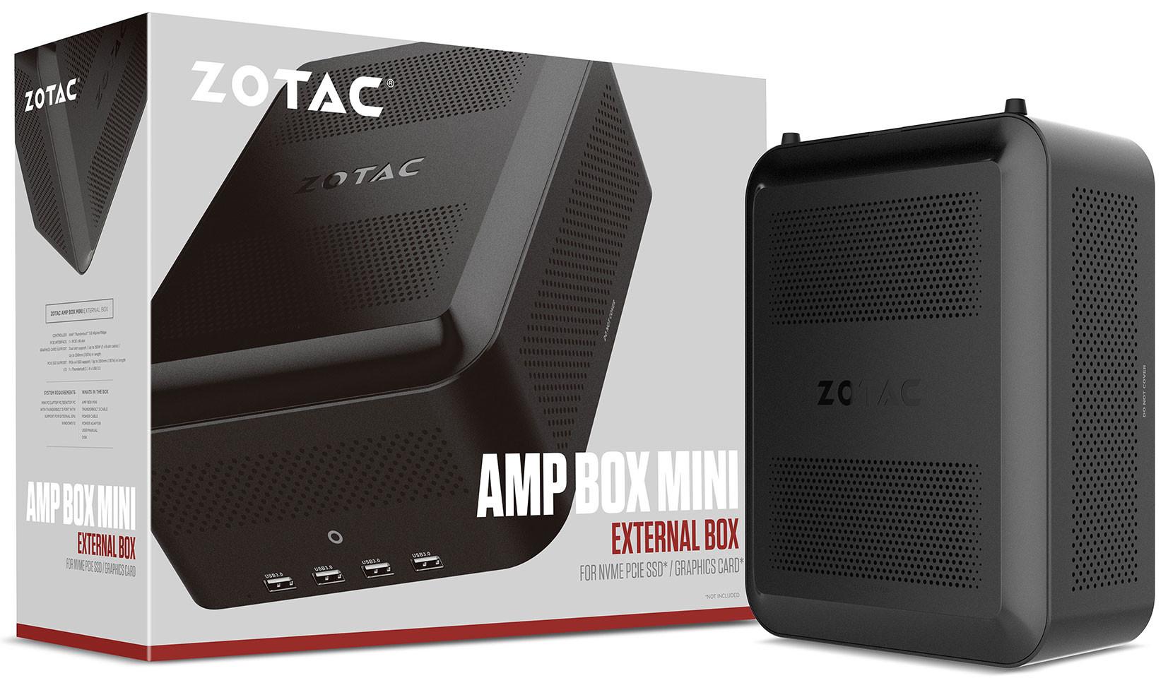 Zotac Announces Thunderbolt 3 Cases - Amp Box and Amp Box