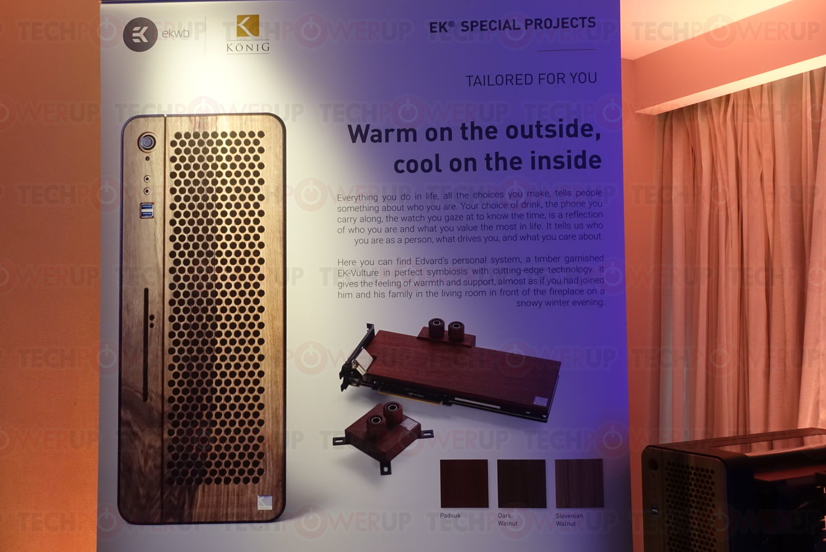 ekwb s r d team shows new concepts for pc cooling techpowerup