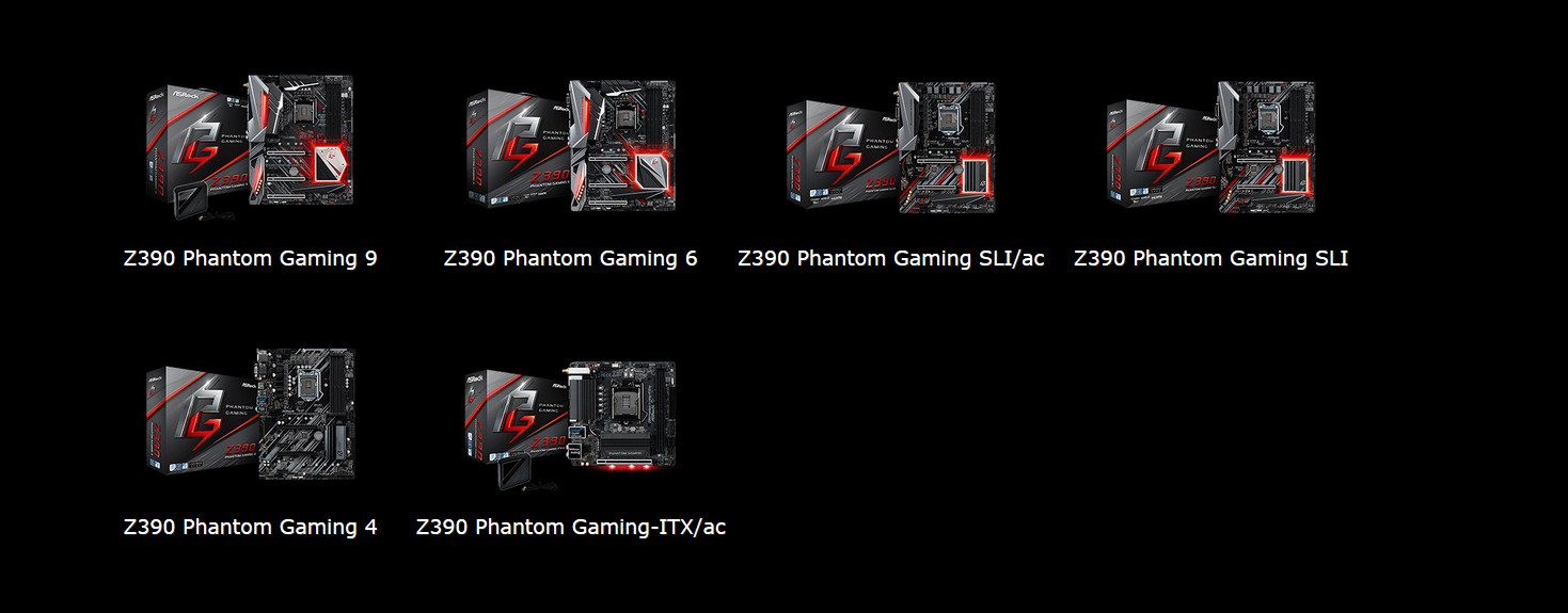 ASRock Launches The Outstanding Intel Z390 Motherboards with Phantom