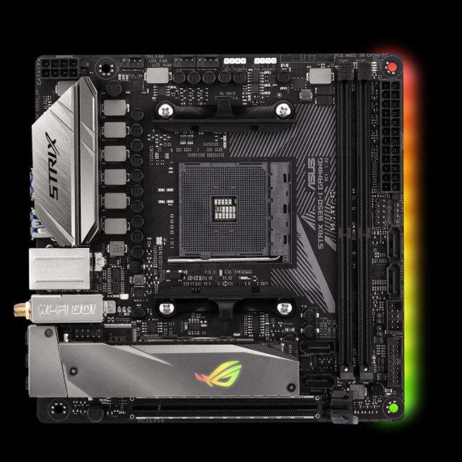 ASUS Announces ROG STRIX X370-I And B350-I Mini-ITX Motherboards For