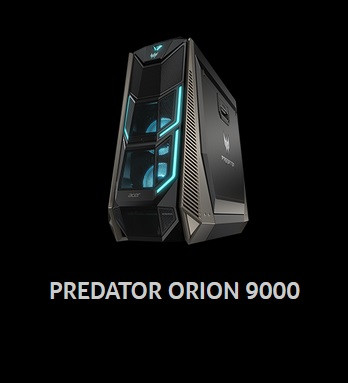 Acer Expands Predator Line with Orion 9000 PC, X35 HDR Gaming