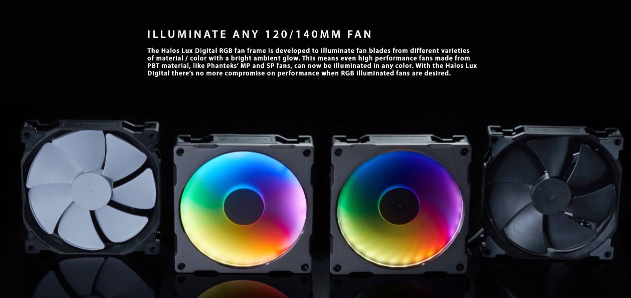 Phanteks Announces Range of Digital RGB Products