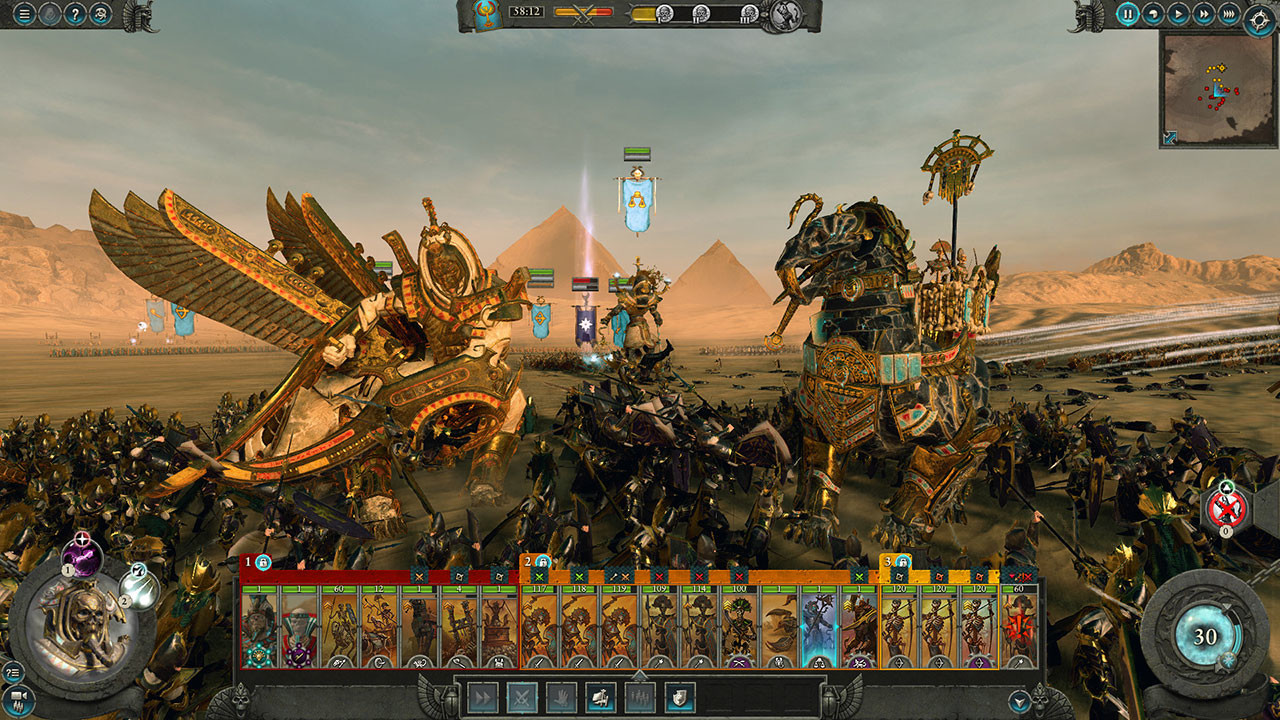 Total War: Warhammer II Rise of the Tomb Kings Campaign Pack Up for