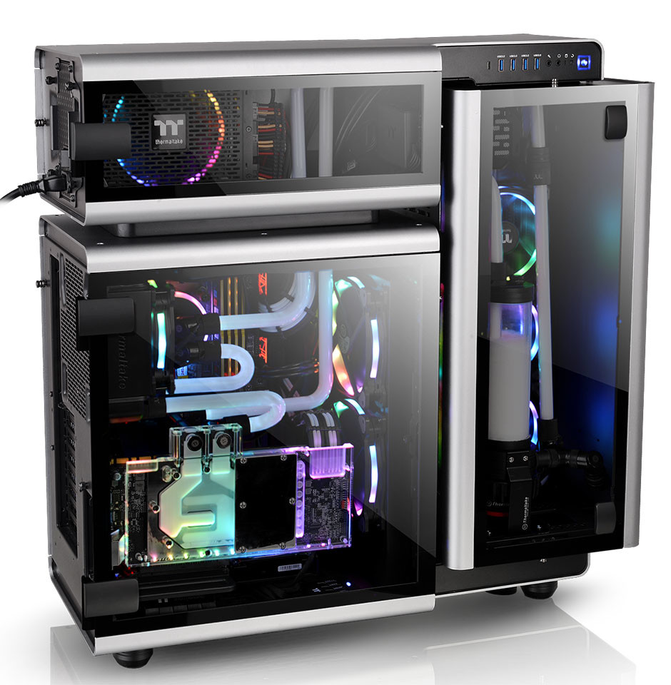 Thermaltake New Level 20 Full Tower Chassis Astounds At