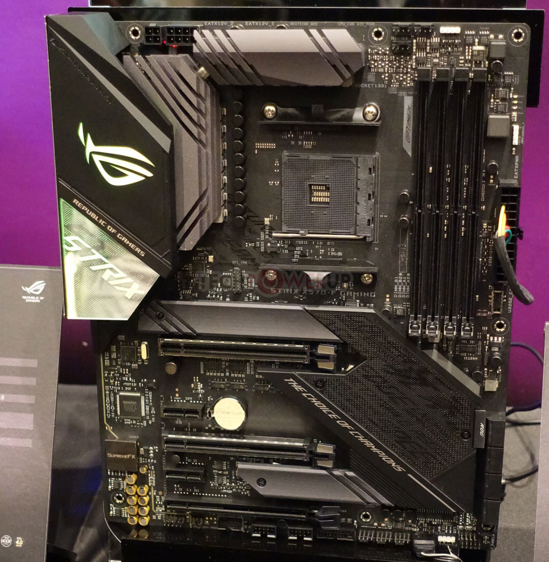 ASUS Shows Off its X570 Motherboard Lineup: ITX Included