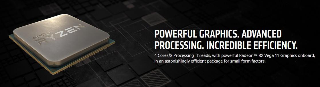 AMD Officially Discloses Ryzen 3 2200GE, Ryzen 5 2400GE