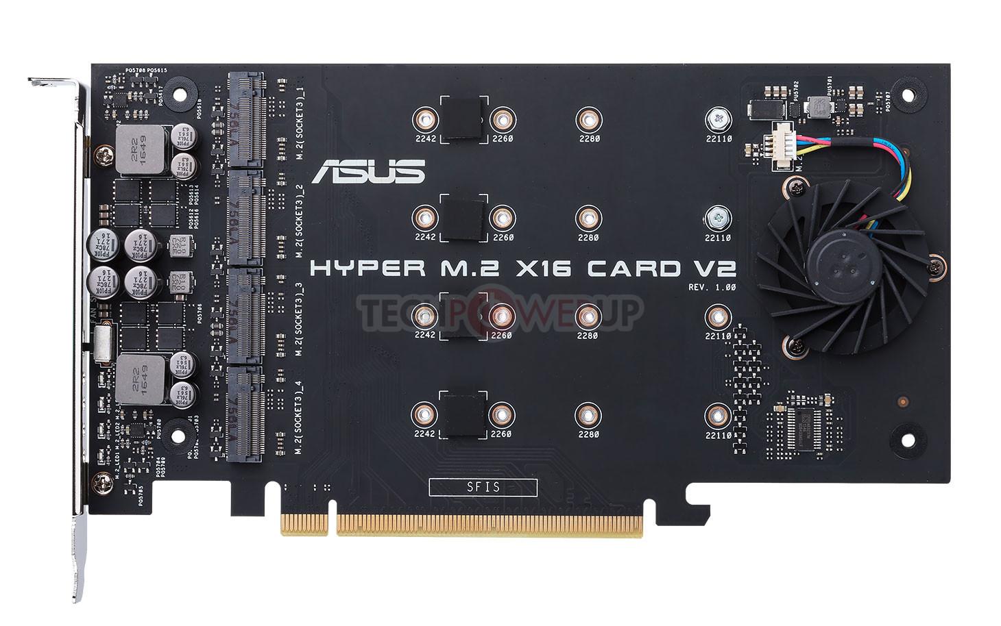 ASUS Rolls Out the Hyper M 2 x16 V2 NVMe RAID Card | TechPowerUp