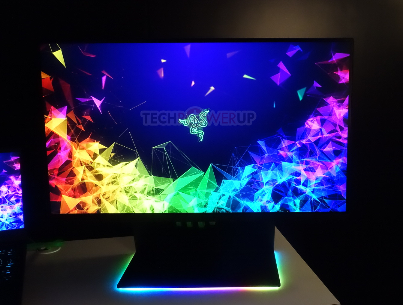 Razer Shows Off Raptor Gaming Monitor, RTX Equipped Laptops
