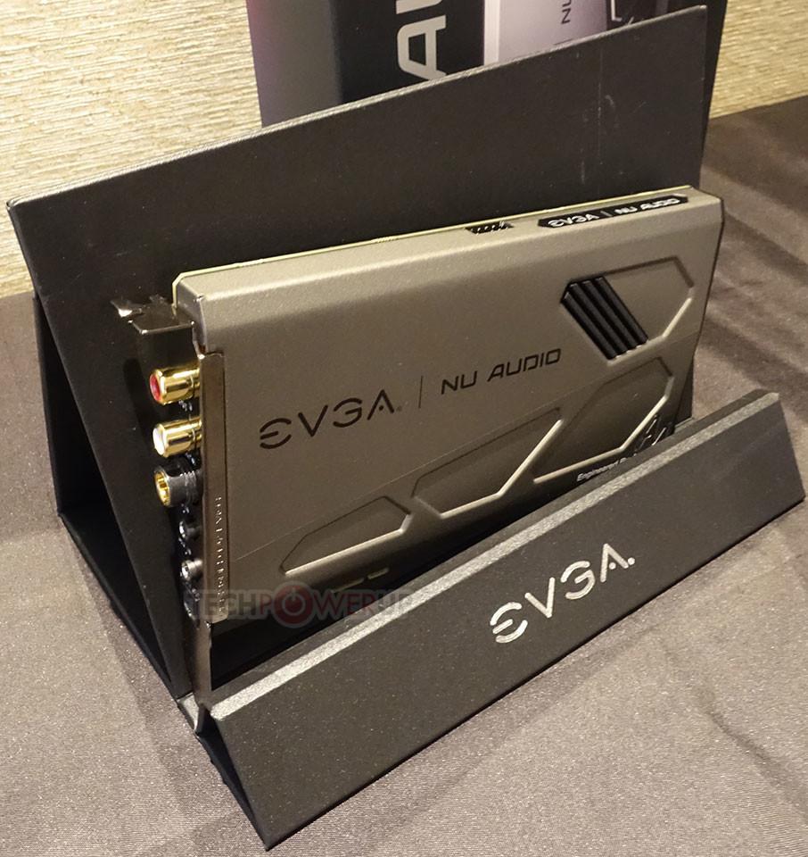 EVGA Unveils the NU-Audio Audiophile-grade Sound Card at CES