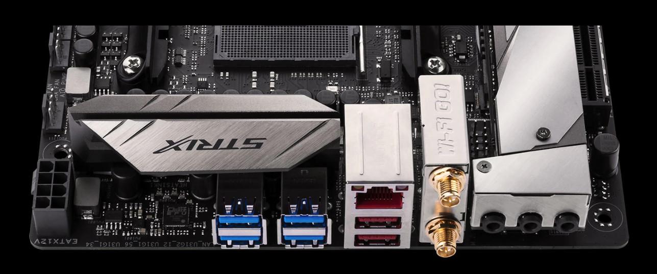 ASUS Announces ROG STRIX X370-I And B350-I Mini-ITX