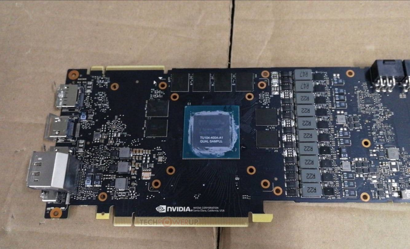 NVIDIA GeForce RTX 2080 ASIC is