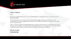 Cyberpunk 2077 Coronavirus Statement, not delayed