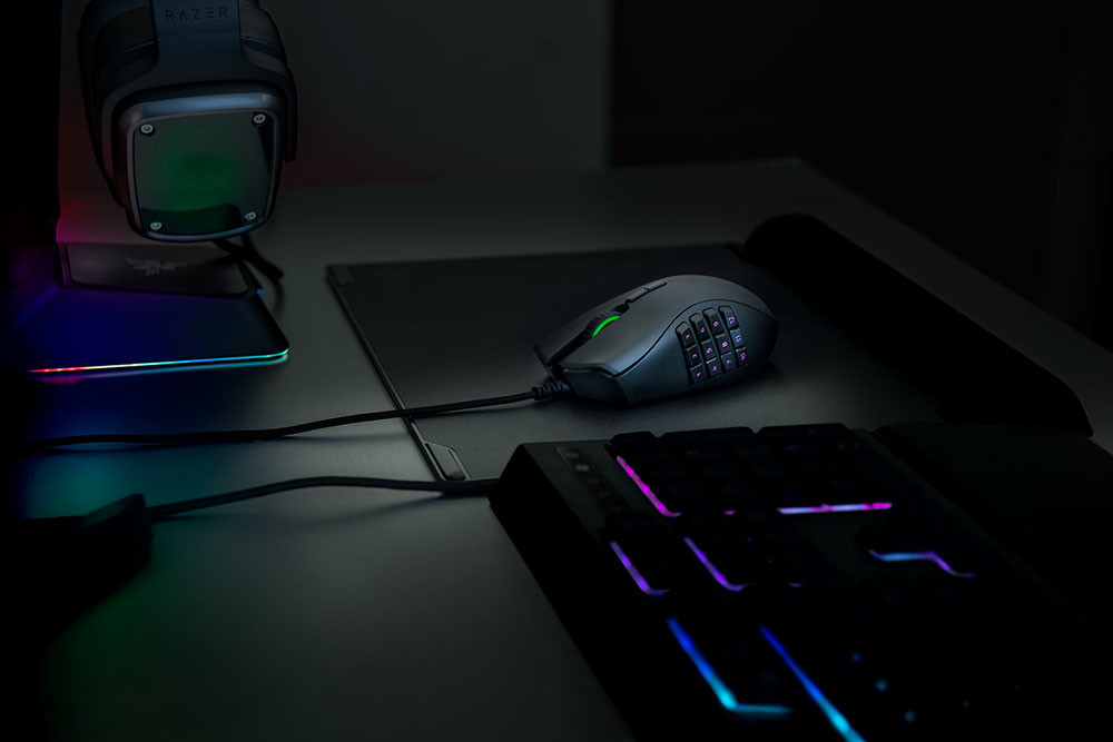 Razer Introduces the Naga Trinity Gaming Mouse and Tartarus