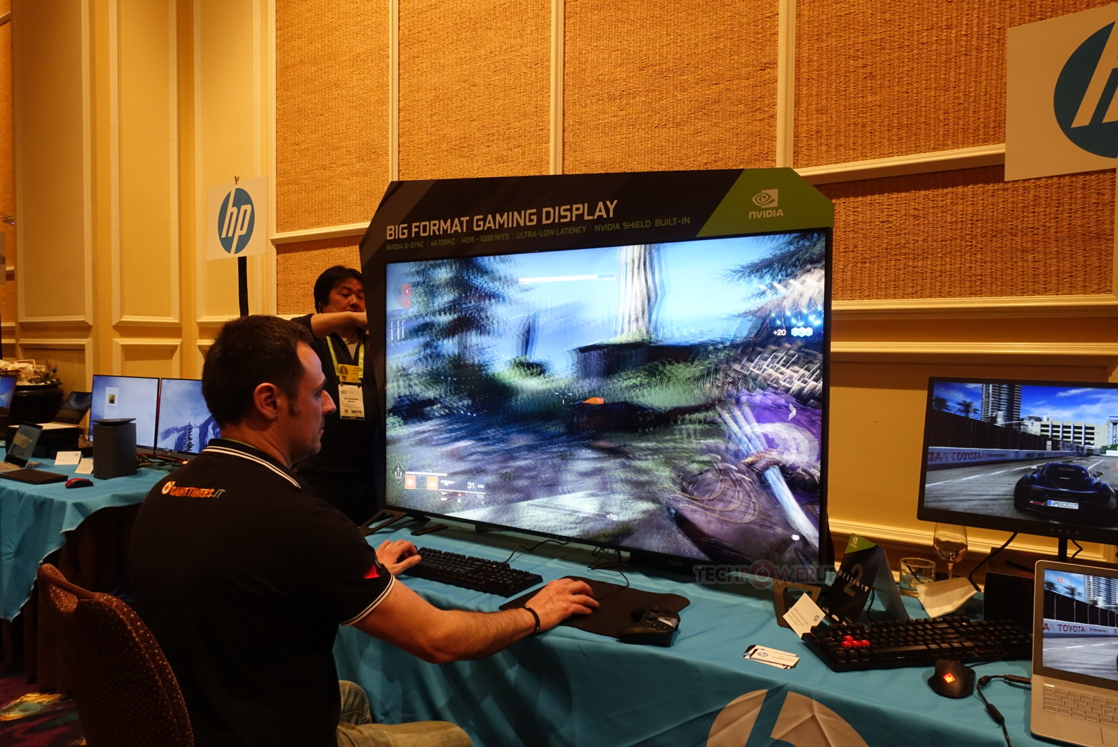 Hp Omen X 65 Big Format Gaming Display Bfgd Pictured