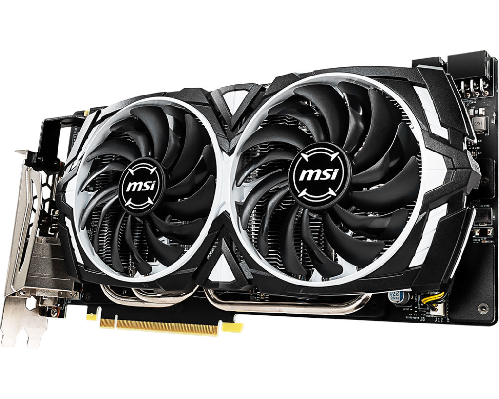 MSI Rolls Out GeForce GTX 1060 6GB Armor OC with GDDR5X Memory
