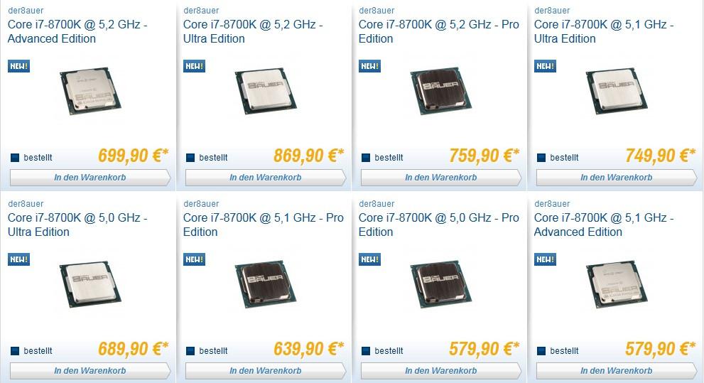 intel core i7-8700k ultra edition