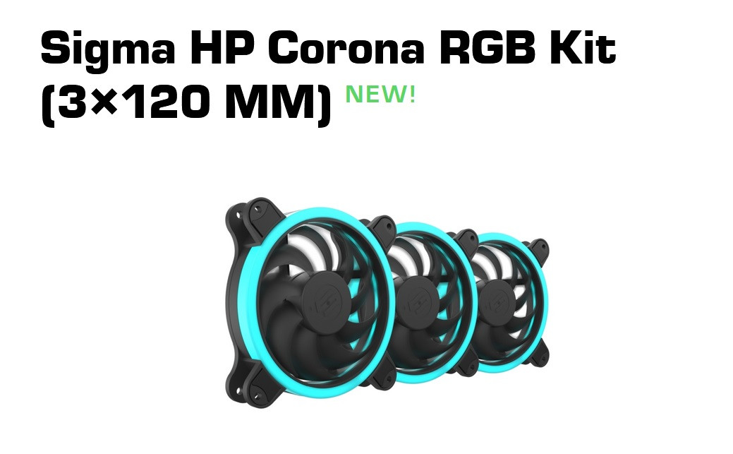 SilentiumPC Announces New RGB Products With Next Generation Corona
